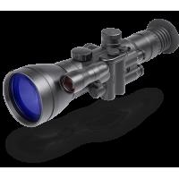 Дедал-445А/bw (4x, 100мм F/1,5, сетка Mildot, ИК подсветка 75мВт, 58штр/мм) поколение II+