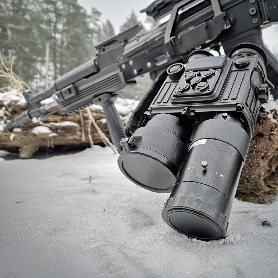 фотография тепловизионного охотничьего прицела FORTIS HYBRID  3F54 Vario