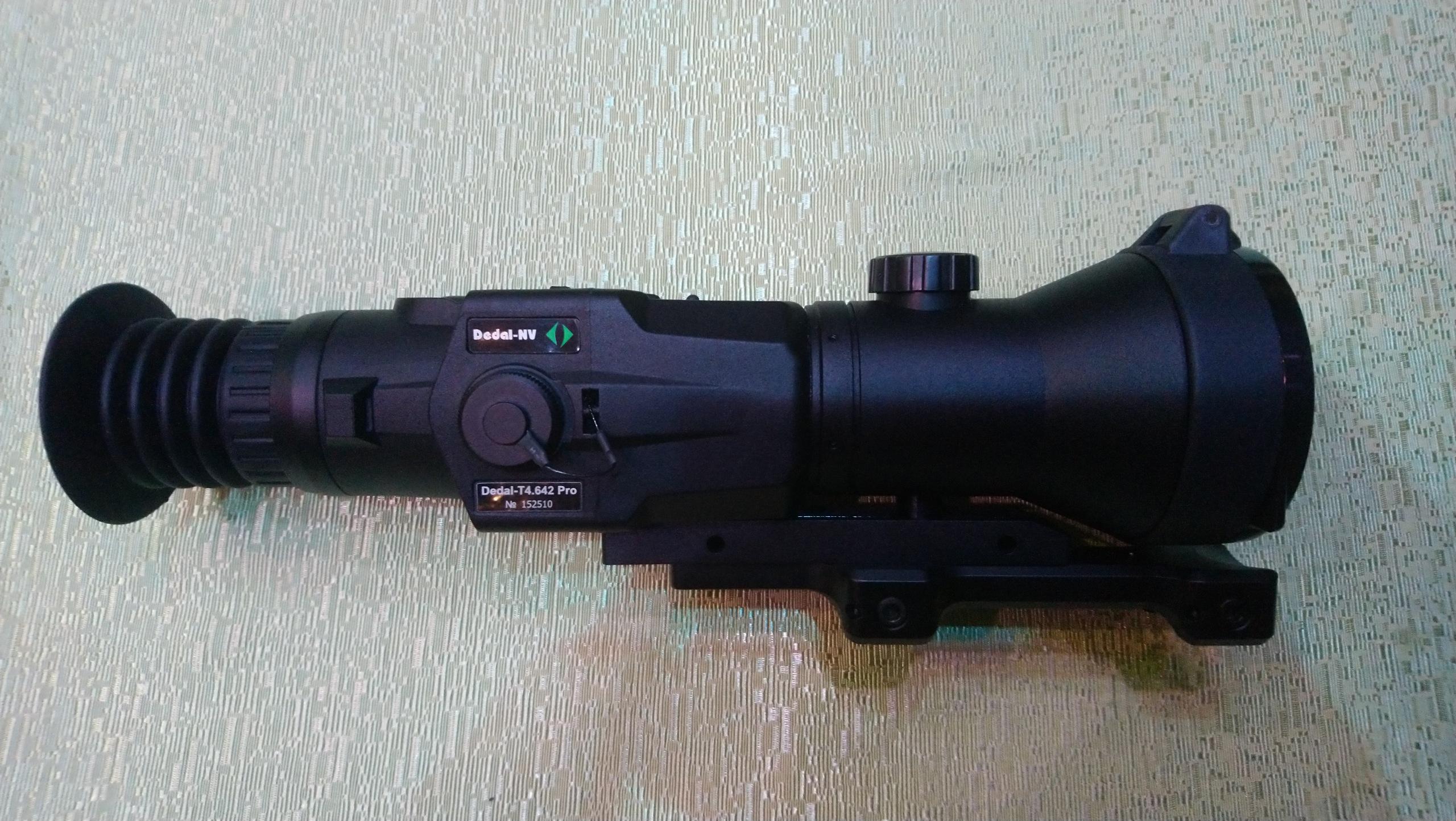 фотография тепловизионного охотничьего прицела Dedal-T4.642 Pro