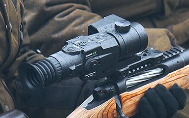 фотография тепловизионного охотничьего прицела Dedal-T2.380 LRF Hunter с дальномером v.5.1